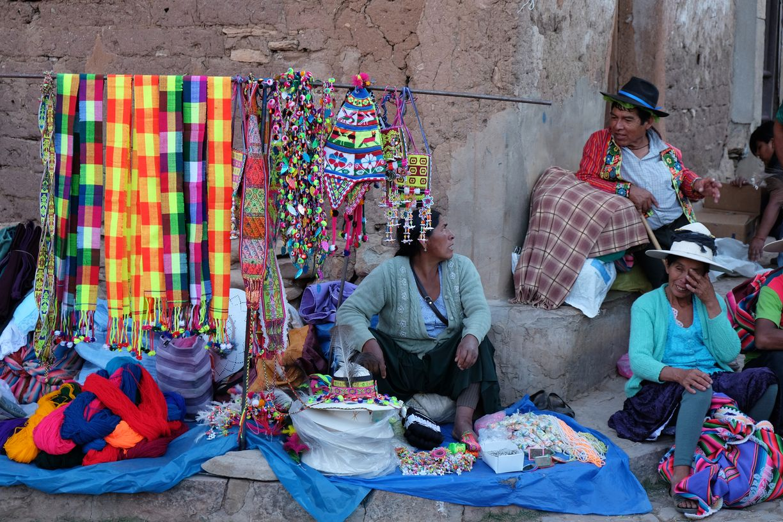 Vendeur d'Artisanat, Torotoro, Bolivie