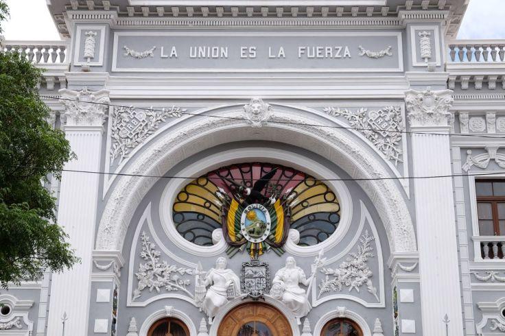 Batiment historique à Sucre
